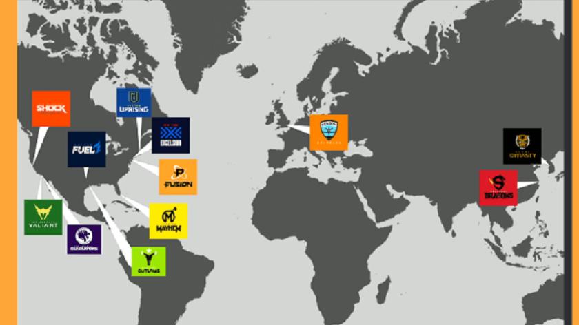 Overwatch-League-Team-Map